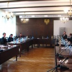 phoca_thumb_l_Jeszcze przez zebraniem w Sali Senackiej