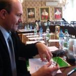 phoca_thumb_l_dr W. Heflik (pozniej wybrany Przewodniczacym zebrania